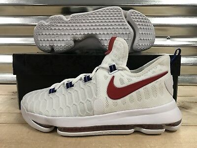 online store f5fdd 6f7a3 NIKE ZOOM KD9 Kevin Durant GS Shoes USA Red White Blue Olympic SZ (  855908-160 ) -  63.99   PicClick
