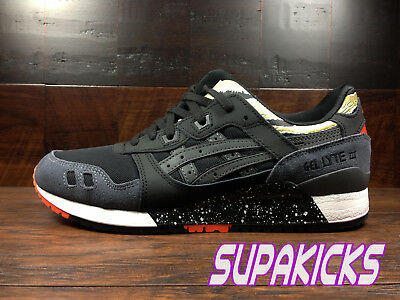 new concept 9d4a1 d59c9 ASICS GEL-LYTE 3 III TIGER CAMO (Black / Red) (H7Y0L-9090) Classic Running  Mens
