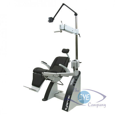 S4Optik 2000CB Combo Exam Chair and Stand with 3 Charging wells