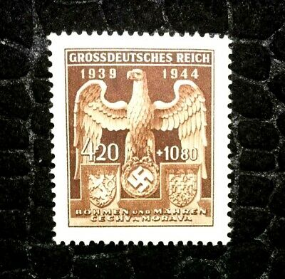 Rare Old Antique Authentic WWII German Stamp with Big Eagle