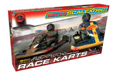 Scalextric G1120 Micro Scalextric Race Karts Set 1:64 Scale