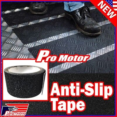 Anti Slip Non Skid High Traction Safety Grit Grip Tape Strips Sticker Adhesive z