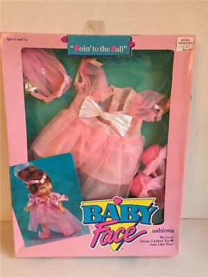 Galoob Baby Face Doll Original Vintage Outfit GOING TO THE BALL New MIB NIB