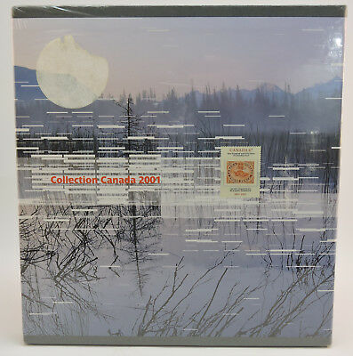 Factory Sealed Souvenir Collection of the Postage Stamps of Canada 2001