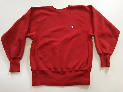 Vtg Champion Reverse Weave Sweatshirt Size M Made In Usa B11