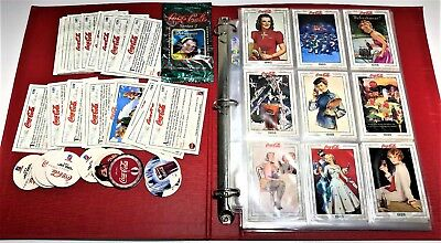 Collect-A-Card Coca-Cola Cards Complete Set Series 2 + Binder, Tazo's And Rares