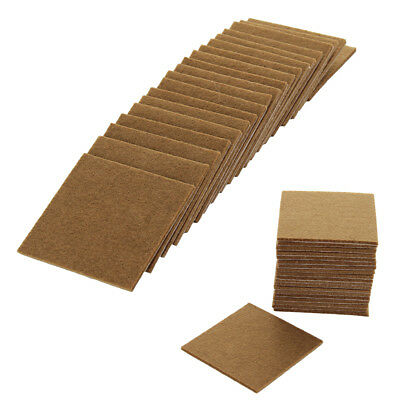 20pcs Oak Wood Protection Laminate Floor Round Protectors Furniture Felt Pads