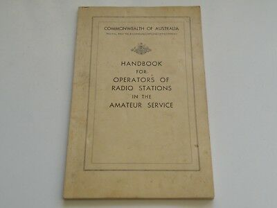 Handbook For Operators Of Radio Stations In The Amateur Service License+Ref Book