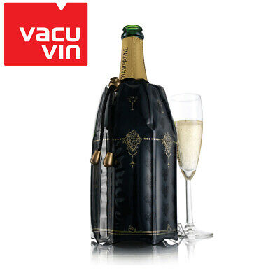 NEW Vacu Vin Rapid Ice Champagne Cooler - Classic - Cools drinks in minutes