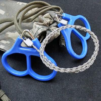 Stainless Steel Emergency Wire Saw Pocket Chain Saw Survival Gear