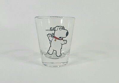 Family Guys Brian Griffin Shot Glass