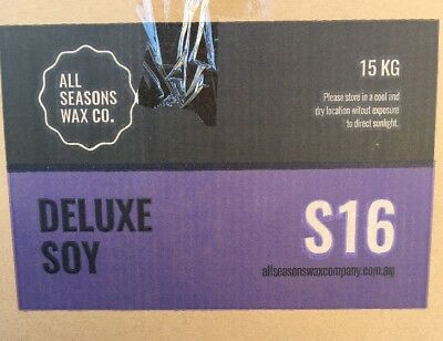 S16 Deluxe Soy Candle Wax