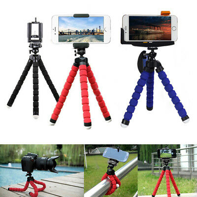 Flexible Tripod Holder Mount Stand Portable Mini Octopus for Mobile Phone Camera