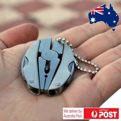 Mini Pocket Knife Folding Travel Multi Tool  Stainless Steel Pliers emergency