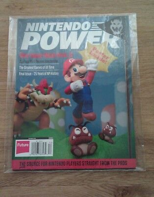Nintendo Power Magazine, Last Ever Issue, Brand New in archival collectors bag.