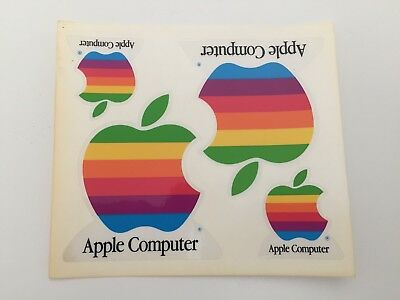 Vintage Apple Computer Stickers - hard to find!