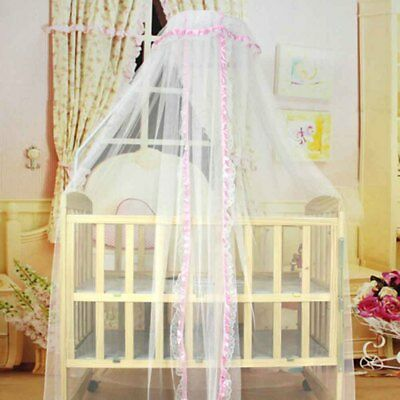 Dome Court Landing Baby Mosquito Net Netting Child Toddler Bed Bedroom Crib