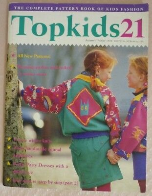 Topkids No. 21 - Sewing Magazine Of Kids Fashion - Uncut Patterns Included
