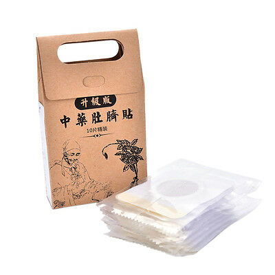 10X Strongest Weight Loss Slimming Diets Slim Patch Pads Detox Adhesive Sheet JO