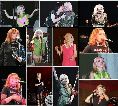100 Blondie colour concert photos 1978/79/80/2005