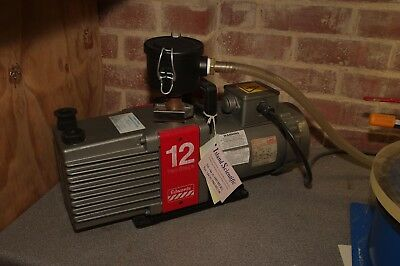 Edwards E2M12 Vacuum Pump with Degas Chamber