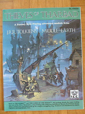 THIEVES OF THARBAD Middle-Earth Role Payling MERP #8050 English frpg lotr mers