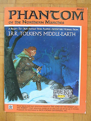 PHANTOM NORTHERN MARCHES Middle-Earth Role MERP #8102 English Rolemaster lotr me
