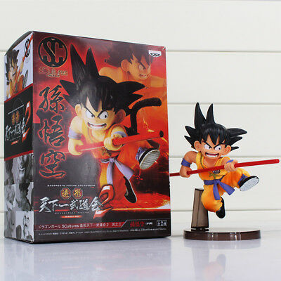 Dragon Ball  Z Figures  Sun Goku PVC Anime Character Action Toys NEW FREE