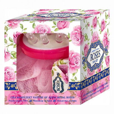 "Spa Set peeling ""Nature of Agiva "" Royal Rose"