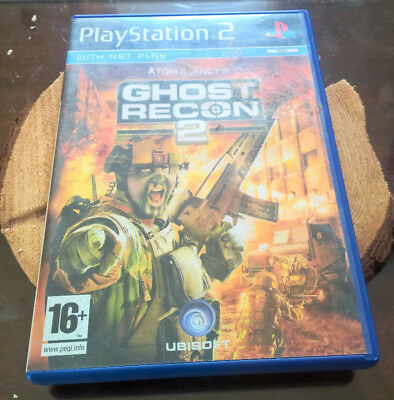 Tom Clancy's Ghost Recon 2 on PS2 with Manual