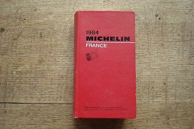 Ancien Guide Michelin France 1984
