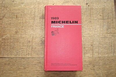 Ancien Guide Michelin France 1989