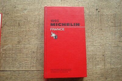 Ancien Guide Michelin France 1995