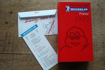 Ancien Guide Michelin France 1999 Avec Marque Page