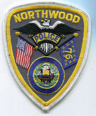 Northwood New Hampshire Police Patch // FREE US Shipping!
