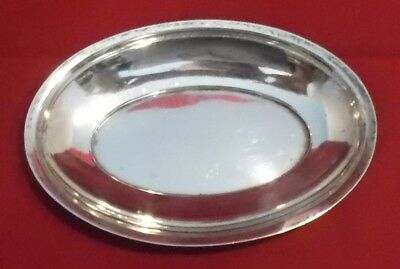 """Whiting Sterling Silver 6 1/8"""" Oval Bowl Pre 1905 pattern 641 115g"""