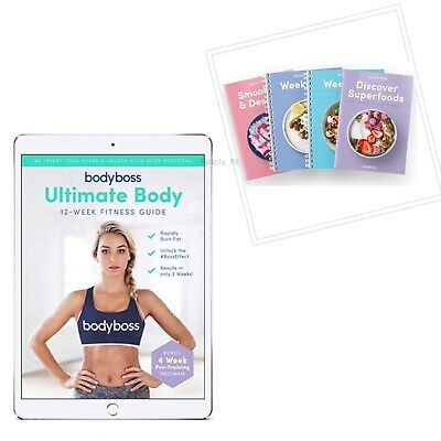 BodyBoss Ultimate Body Fitness Guide Bundle + BONUS: Free Smoothie Recipe Book!