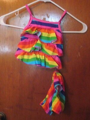CARTER'S   Girls Size 18 MONTHS   2 PIECE  Bathing Swimming Suit     NEW