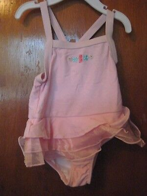 CARTER'S  Girls Size 18 MONTHS    Bathing Swimming SuiT    PINK  NEW