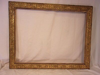 LARGE antique victorian GOLD GUILD frame 31x39  holds 25 1/2 x 33 1/2  molding 3