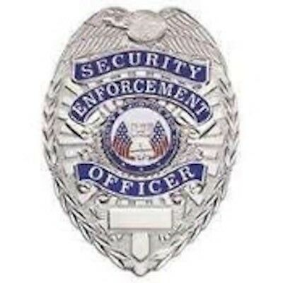Security Enforcement Officer SILVER Badge