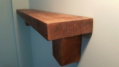 New Wall Mounted Floating Shelf Rustic Reclaimed Shabby Chic Vintage Chunky Hand