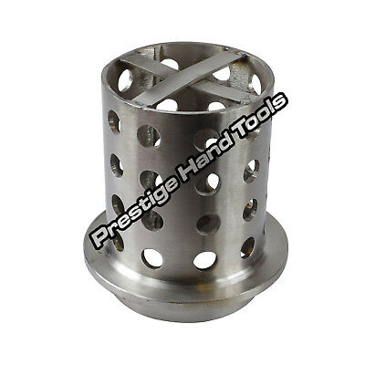 "Casting Flask Perforated 4"" x 7"" Vacuum Wax Casting flask flange Stainless steel"