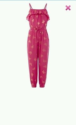 Bnwt monsoons girls bethany jumpsuit age 9 years. RRP £24