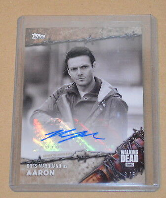 Topps On Demand The Walking Dead Autograph card 17BW-A Ross Marquand 3/5