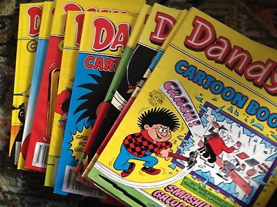Dandy Comic Library Special Cartoon Books No. 1, 2, 5, 13, 22,52, 53, 54, 55, 56