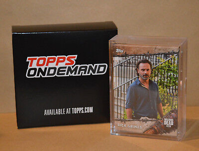 Topps On Demand The Walking Dead Set #11 - 25 Base Cards *Print Run 282 made*