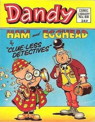 Dandy Comic Library 68 Ham and Egghead The Clueless Detectives