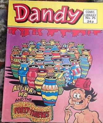 Dandy Comic Library 75 Ali Ha Ha and the Forty Thieves