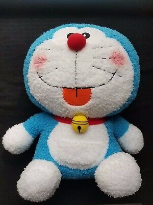 "Doraemon 15"" limited edition fuzzy plush straight from Japan"